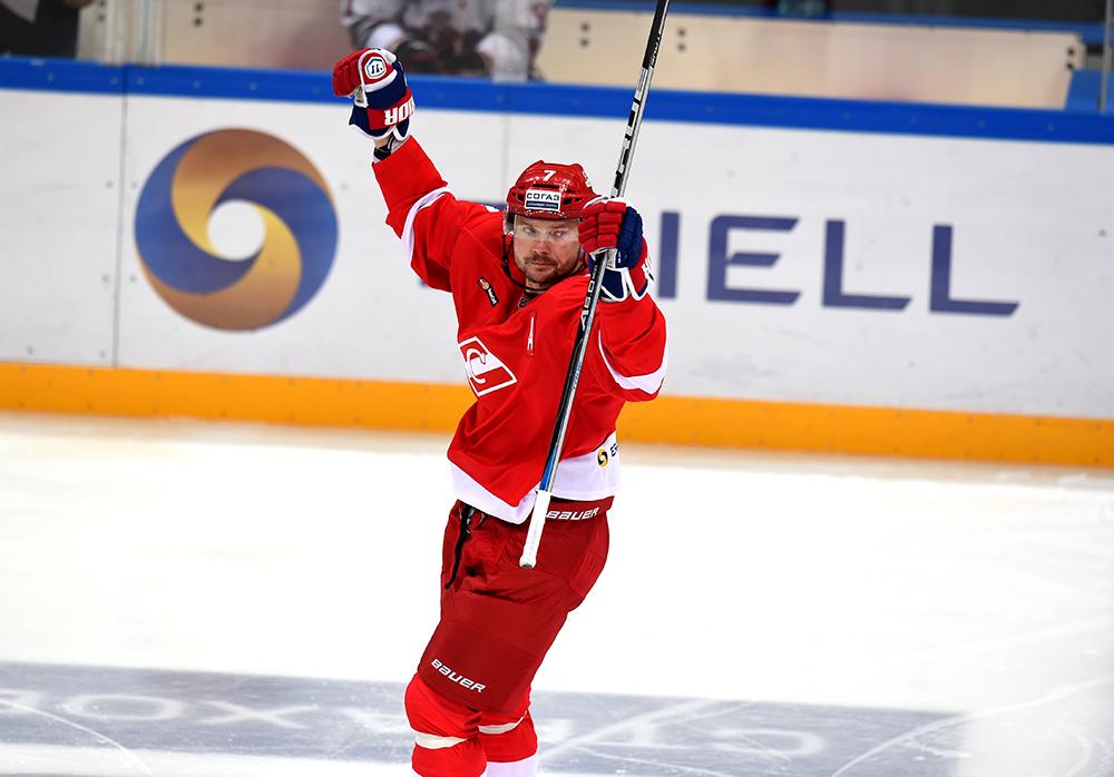 Дмитрий Калинин продолжит играть за «Спартак»